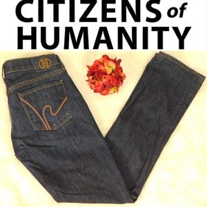 Citizens of Humanity Ava Straight Leg Jean Size 28